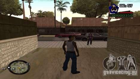 C-HUD by Kidd для GTA San Andreas