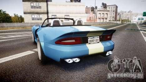 Bravado Banshee Viper для GTA 4 вид сзади слева