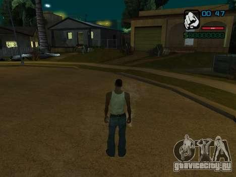 Числовой показатель HP для GTA San Andreas третий скриншот