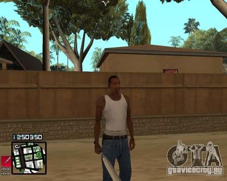 C-HUD Compact для GTA San Andreas
