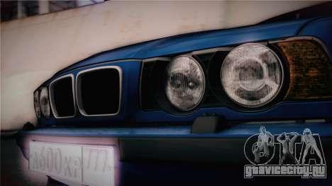 BMW M5 E34 Stance для GTA San Andreas вид справа
