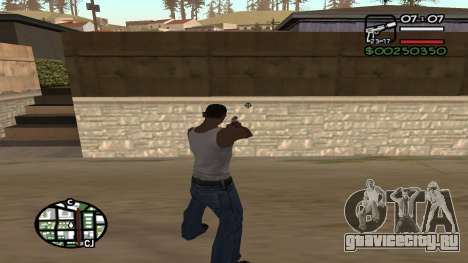 C HUD King Ghetto Life для GTA San Andreas второй скриншот