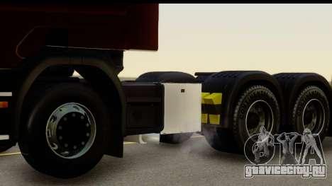 Scania P340 для GTA San Andreas вид сзади