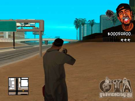 C-HUD WeJack для GTA San Andreas второй скриншот