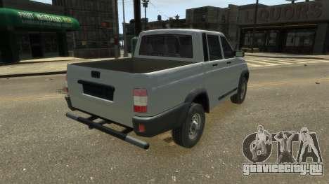UAZ Patriot Pickup v.2.0 для GTA 4 вид слева