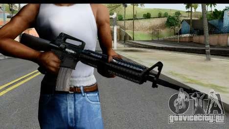 M4A1 from State of Decay для GTA San Andreas третий скриншот