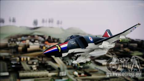 F4 Royal Air Force для GTA San Andreas