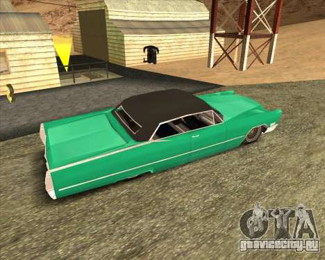 Cadillac DeVille Lowrider 1967 для GTA San Andreas вид слева