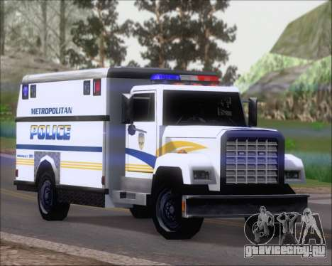 Enforcer Metropolitan Police для GTA San Andreas вид слева
