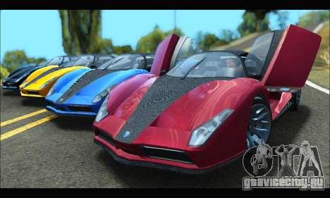 Grotti Cheetah v3 (GTA V) (SA Mobile) для GTA San Andreas