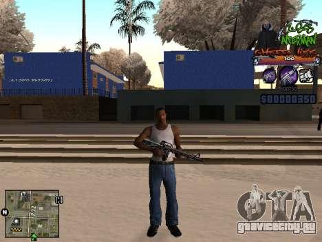 C-HUD Les Alterman для GTA San Andreas второй скриншот