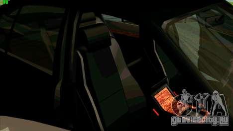 BMW 730i для GTA San Andreas вид сверху