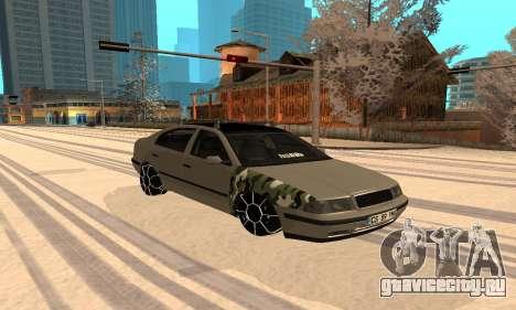 Skoda Octavia Winter Mode для GTA San Andreas