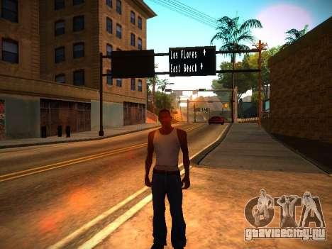 ENB v1.3 для слабых ПК для GTA San Andreas второй скриншот