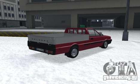 Daewoo FSO Polonez Truck Plus ST 1.9 D 2000 для GTA San Andreas вид слева