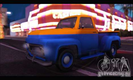 Vapid Slamvan (GTA V) для GTA San Andreas
