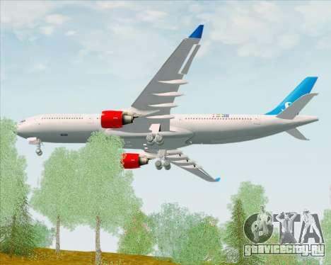 Airbus A330-300 Scandinavian Airlines для GTA San Andreas вид справа
