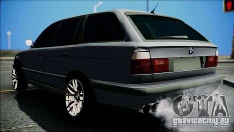 BMW M5 E34 Wagon для GTA San Andreas вид сзади слева