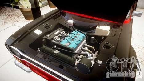 Ford Escort RS1600 PJ62 для GTA 4 вид сзади