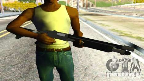 Shotgun from GTA 5 для GTA San Andreas третий скриншот