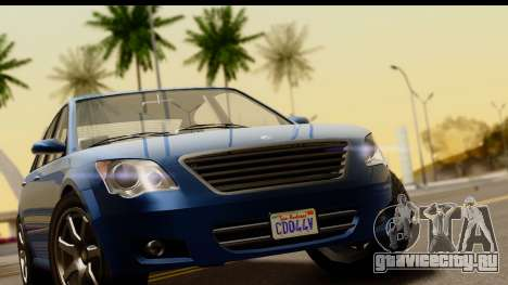GTA 5 Karin Asterope SA Mobile для GTA San Andreas вид справа