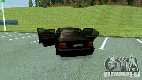 BMW 730i для GTA San Andreas салон