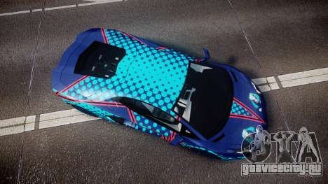 Lamborghini Aventador 2012 [EPM] Miku 3 для GTA 4 вид справа
