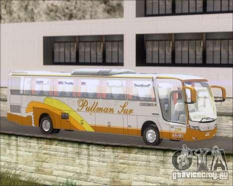 Busscar Vissta Buss LO Pullman Sur для GTA San Andreas вид слева