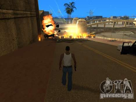 Realistic Effects v3.4 by Eazy для GTA San Andreas четвёртый скриншот