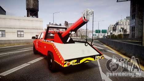 Dodge Ram 3500 Falck Service [ELS] для GTA 4 вид сзади слева