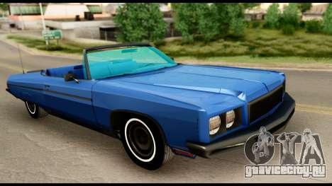 Chevy Caprice 1975 Beta v3 для GTA San Andreas вид справа