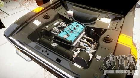 Ford Escort RS1600 PJ14 для GTA 4 вид сзади