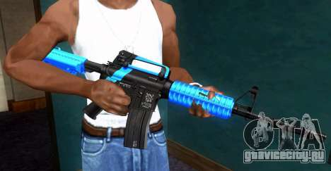 M4 RevoFX для GTA San Andreas четвёртый скриншот