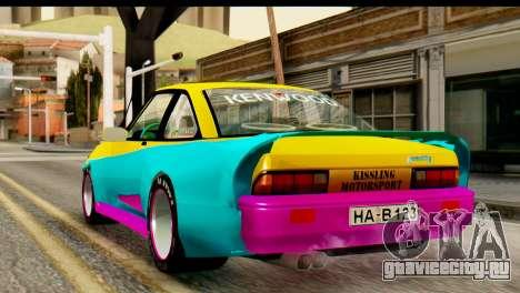 Opel Manta для GTA San Andreas вид слева