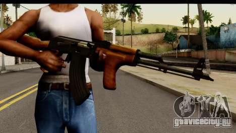 Modified AK47 для GTA San Andreas третий скриншот
