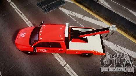 Dodge Ram 3500 Falck Service [ELS] для GTA 4 вид справа
