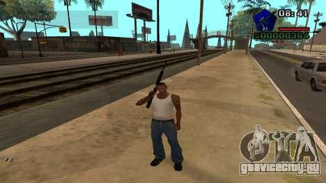 C-HUD by Kidd для GTA San Andreas третий скриншот