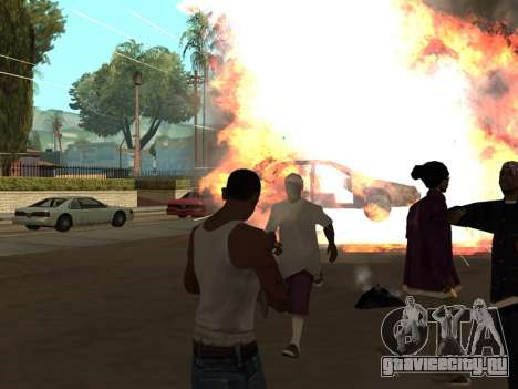 New Realistic Effects 3.0 для GTA San Andreas второй скриншот