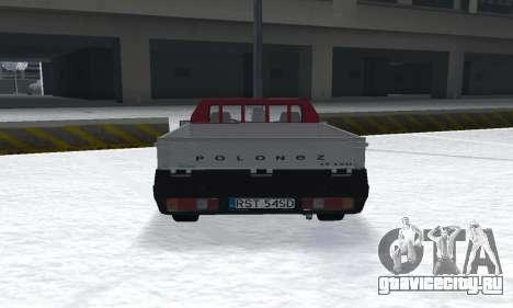 Daewoo FSO Polonez Truck Plus ST 1.9 D 2000 для GTA San Andreas вид сзади слева