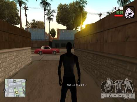 Mobile C-HUD для GTA San Andreas второй скриншот
