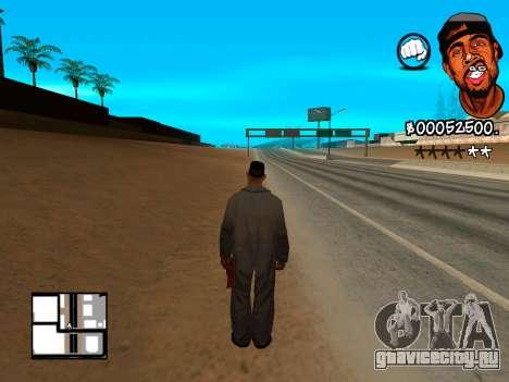 C-HUD WeJack для GTA San Andreas третий скриншот