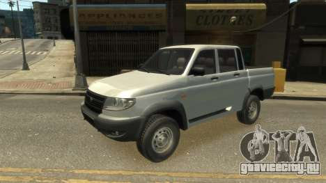 UAZ Patriot Pickup v.2.0 для GTA 4