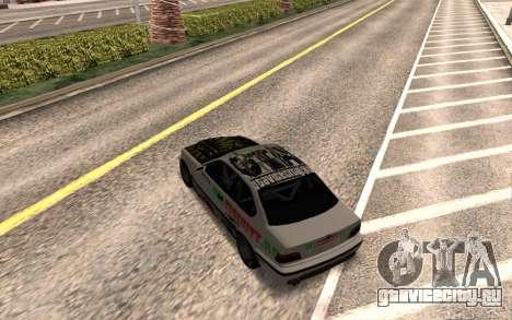 BMW M3 E36 VCDT для GTA San Andreas вид справа