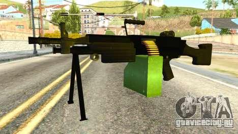 M249 Machine Gun для GTA San Andreas