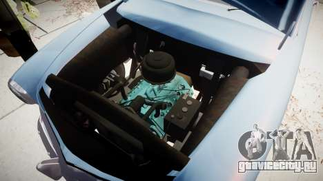 Ford Custom Club 1949 для GTA 4 вид сзади