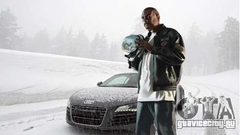 Зимние загрузочные экраны для GTA 4 восьмой скриншот