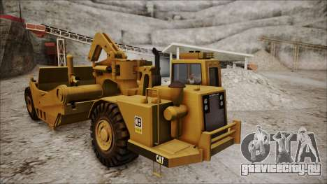 Caterpillar 631D для GTA San Andreas