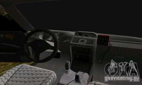 Mitsubishi Pajero Off-Road для GTA San Andreas вид сверху