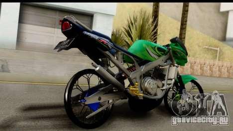 Kawasaki Ninja R Drag для GTA San Andreas вид слева