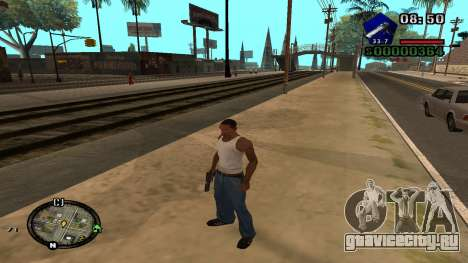 C-HUD by Kidd для GTA San Andreas четвёртый скриншот